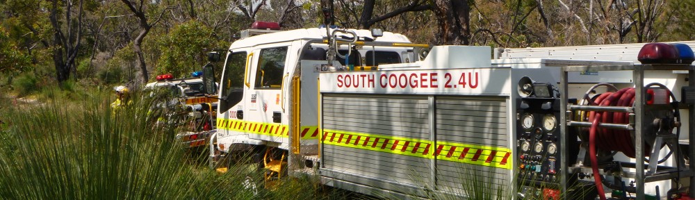SOUTH COOGEE BUSH FIRE BRIGADE